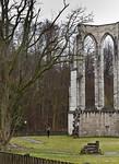 Walkenried, Klosterkirche. Chorpolygon von Westen, Detail
