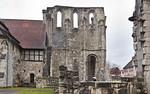 Walkenried, Klosterkirche. Westwand des südl. Querarms