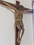 Freyburg, Stadtkirche St. Marien, Kruzifix (1489, Hans von Pößneck, zugeschr.)