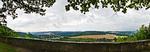 Das Saaletal in der Nähe der Rudelsburg