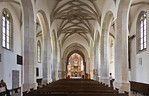 Freyburg, Stadtkirche St. Marien, Blick nach Osten