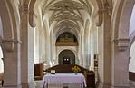 Freyburg, Stadtkirche St. Marien, Blick nach Westen