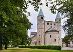 Gernrode, St. Cyriakus von Nordwesten