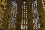 Halberstadt, Dom. Fenster der Marienkapelle am Chorumgang