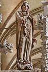Halberstadt, Dom. Triumphkreuz: Maria