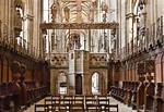 Halberstadt, Dom. Blick aus Chor auf Längsschiff mit Triumphkreuz