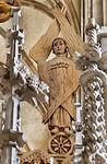 Halberstadt, Dom. Triumphkreuz: rechter Seraphim