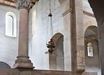 Hamersleben, St. Pankratius. Blick ins südl. Seitenschiff über Chorschranke hinweg