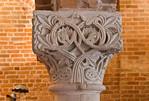 Jerichow, Stiftskirche: Kapitell in Sommerremter