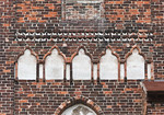 Jerichow, Stiftskirche: Nordwestturm, zweit oberster Fries