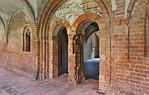 Jerichow, Stiftskirche: Portal zum Kapitelsaal vom Kreuzgang