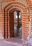Jerichow, Stiftskirche: spätgotisches Portal vom Kreuzgang zum Winterremter