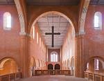 Jerichow, Stiftskirche: Blick vom Chor nach Westen