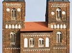 Jerichow, Stiftskirche: Westbau, oberer Teil