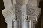 Landsberg/Saale, Doppelkapelle. Untere Kapelle, Mittelpfeiler