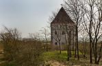 Landsberg/Saale, Doppelkapelle. Ansicht von Westen
