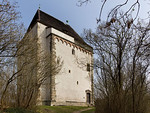 Landsberg/Saale, Doppelkapelle. Ansicht von Südwesten