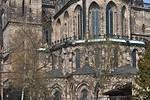 Magdeburg, Dom. Chor von Osten, Detail