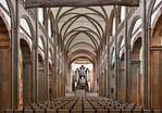 Magdeburg, Liebfrauenkirche. Längsschiff nach Osten