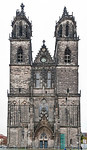 Magdeburg, Dom. Westfassade