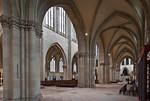 Magdeburg, Dom. Langhaus aaus Seitenschiff nach Osten