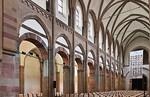 Magdeburg, Liebfrauenkirche. Längsschiff nach Südwesten
