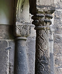 Magdeburg, Dom. Säulen im Kreuzgang