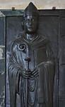 Magdeburg, Dom. Grabplatte für Erzbischof Wichmann von Seeburg (gest. 1192)