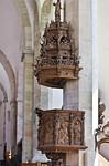 MMerseburg, Dom, Kanzel (1. Dr. 16. Jh.)