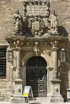 Merseburg, Schlosshof, Hauptportal im Nordflügel (Melchior Brenner, um 1610)