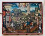 Merseburg, Dom, Verschlossener Garten mit Verkündigung und Einhornjagd (1515)