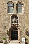 "Merseburg, Schlosshof, ""Davidspforte"" im Nordflügel (um 1490)"