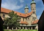 Naumburg, Dom: Ostteil des Doms vom Kreuzgang