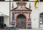 Naumburg, Markt. Portal des Rathauses