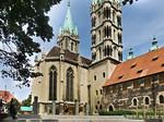 Naumburg, Dom: Westchor und -türme von Südwest