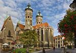 Naumburg, Domplatz von Osten