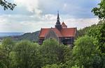 Goseck: Schlosskirche von Osten