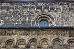 Quedlinburg: St. Servatii, Fassadendetail nördl. Längsschiff