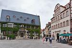 Quedlinburg: Rathaus am Marktplatz