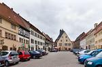 Sangerhausen, Markt nach Osten