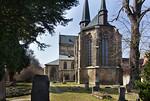Kloster Schulpforta, Kirche. Blick von Osten