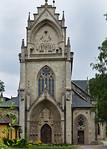 Kloster Schulpforta, Kirche. Westfassade der Klosterkirche