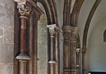 Kloster Schulpforta, Abtskapelle. Kapitelle der Südwand