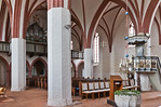 Stendal, St. Petri, Langhaus nach Nordwesten