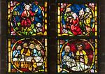Stendal, Jacobikirche, Chorfenster sIII: Leben Jesu (um1370)