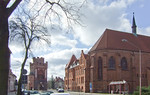 Stendal, Tangermünder Tor und Chor der ehem. Katharinenklosterkirche