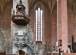 Stendal, Jacobikirche, Kanzel, Hans Hacke (1612)