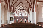 Stendal, St. Petri, Langhaus nach Osten