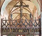 Stendal, Jacobikirche, Chorschranke (1. V. 16. Jh.)