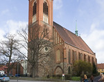 Stendal, Jacobikirche von Südwesten